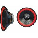 Coppia woofer 250W KARMA RED 10-25