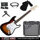 Fender BULLET SQUIER STRATOCASTER SBS KIT CHITARRA ELETTRICA + AMPLIFICATORE