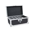 custodia Flight case professionale per 12 microfoni