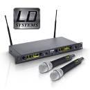 Ld System SET WIN 42 Series - microfoni Wireless a condensatore di Alto Livello