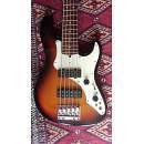 Fender ROSCOE BECK V basso elettrico sunburst astuccio originale