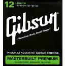 Gibson Corde Masterbuilt 12-53 light Chitarra Acustica phosphor bronze