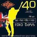 Rotosound RB40 corde per basso nickel 40-100