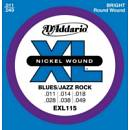 D'addario EXL115 11-49 Blues/Jazz Rock