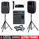 DB Technologies CROMO 15+ IMPIANTO AUDIO 1200 Watt COMPLETO  Karaoke Disco DJ