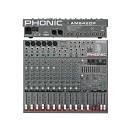 Phonic Am642dp - Mixer 10 Canali Con Effetti Digitali Ed Equalizzatore Grafico