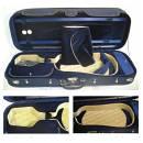 Custodia viola DOMUS 4/4 nero/sabbia-blu
