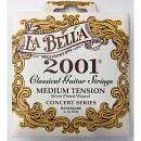 LA BELLA 2001 MUTA CORDE PER CHITARRA CLASSICA MEDIUM TENSION