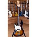 Fender Mexico Standard Jazz Bass Rosewood Brown Sunburst Lefty