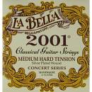 LA BELLA 2001 MUTA CORDE PER CHITARRA CLASSICA MEDIUM HARD TENSION