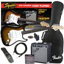 Squier Stratocaster Affinity Pack Sunburst