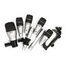 SAMSON 7KIT - Set di Microfoni per Batteria - 7 pezzi