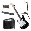 Rocktile Pro ST3-BK versione mancina (Lefty) kit chitarra elettrica
