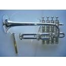 Trombino in sib 4 pistoni COMET argentato