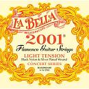 LA BELLA 2001 FLAMENCO MUTA CORDE PER CHITARRA CLASSICA LIGHT TENSION