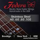 FODERA 45105S corde per basso 45-105 STAINLESS STEEL