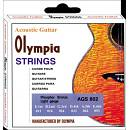 OLYMPIA STRINGS AGS 802 ACOUSTIC GTR STRING 012-053 [PB]