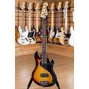 Squier (by Fender) DLX Dimension V Bass RW 3 Tone Sunburst