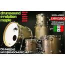 DRUM SOUND EVOLUTION MAPLE 22 10 12 14 16 100% ACERO MADE IN ITALY! IN GARANZIA!