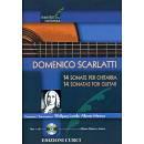 DOMENICO SCARLATTI 14 SONATE PER CHITARRA CON CD