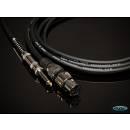 MPE Audio Cavo per microfono XLR Femmina Jack mono 6,3mm 5mt MADE IN ITALY