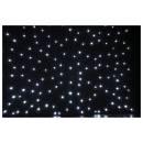 tenda fondale Stardrape 3x6m con LED bianchi cielo stellato