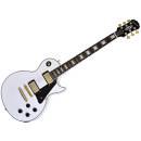 Epiphone Les Paul Custom Pro Alpine White - Chitarra Elettrica Bianca