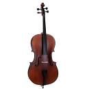 Soundsation Violoncello Virtuoso VPCE 44 4/4 fondo e fasce in acero fiammato