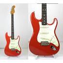 Fender Stratocaster del 2007 fiesta red - made in mexico