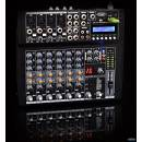 MPE Audio MIXER PASSIVO 8 CANALI con effetti DSP - USB - SD Card - MP3 player