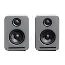 Nocs Ns2 Air Monitors V2 Grey (coppia) - Coppia Di Monitor Amplificati Bluetooth 160w Grigi
