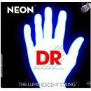 DR NEON corde per basso 45-105 White