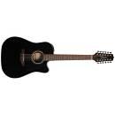 Takamine GD30ce-12-BLK - chitarra acustica 12 corde elettrificata