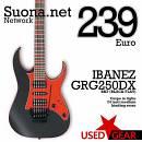 Ibanez GRG250DX-BKF Black Flat
