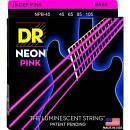 DR NEON Corde per basso 45-105 pink npb-45