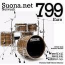 Volume Drums IDrum  ID522 GLZ Glossy Zebrano