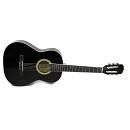 Muses CG30014BK - chitarra classica un quarto per bambini - colore nero