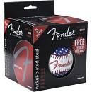FENDER 3-Pack 250L Guitar Strings 9-42 w/Free BaseBall