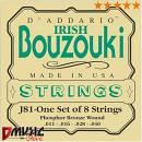 D'Addario J81 Corde per Bouzouki Irlandese
