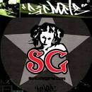 SICMATS SLIPMAT 2 PANNI PER GIRADISCHI - DJ - TAPPETINI KIT COPPIA SICMATS LOGO SG