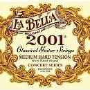 La Bella 2001MED-HARD Medium Hard Tension