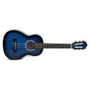 Muses CG30018BLS - chitarra classica un ottavo per bambini - colore blu sfumato