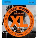 D'ADDARIO EXL140 MUTA CORDE PER CHITARRA ELETTRICA 6 CORDE MEDIUM 10/52 NICKEL WOUND