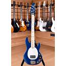 Music Man Sting Ray Maple Blue Pearl Matched Headstock