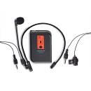 TAKSTAR TC-TL-C1 ROSSO - Microfono Lavalier/Headset per TC-4R1