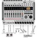 ZOOM R24 REGISTRATORE MULTITRACCIA DIGITALE CONTROLLER AUDIO SPEDIZIONE INCLUSA