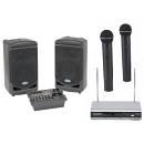 Karaoke Kit 5 Radio Dual [samson Xp308i + Vhf2001 Dual + Sms308] - Kit Karaoke Bluetooth Con 2 Micro