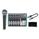 SHURE Singer Pack Microfono Dinamico Cardioide / Mixer / Custodia / Cavo XLR/XLR Bundle