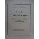 J.DELECLUSE METHODE DE CAISSE-CLAIRE (DRUM)
