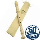 Set 50 pz YAMAHA YRS23 - Flauto Didattico Dolce Bundle Speciale Scuola